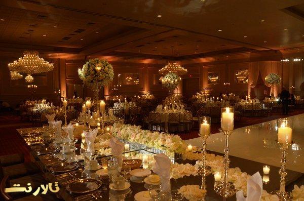 عروسی عاشقانه, عروسی رومانتیک, تالار عروسی عاشقانه