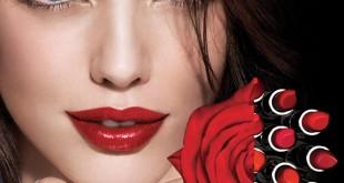رژ لب قرمز، مدل آرایش لب