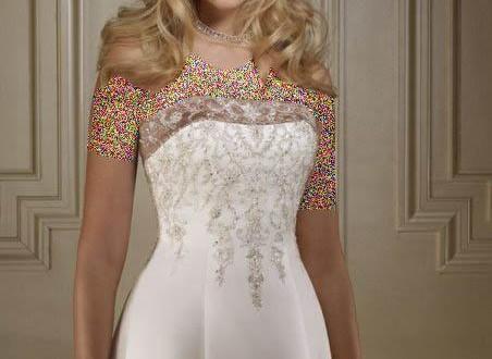 مدل لباس عروس اروپایی 2015