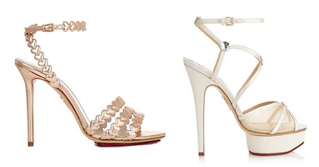 مدل کفش عروس برند و مارک معروف