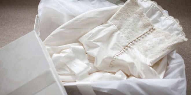 نگهداری لباس عروس بعد از عروسی، لباس عروسی