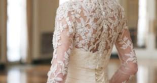 مدل دانتل لباس عروس بسیار زیبا