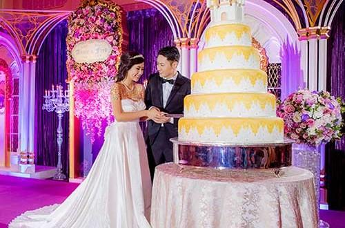 عروسی دیزنی لند, مراسم عروسی