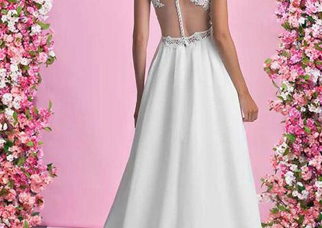 بهترین مدل پشت لباس عروس