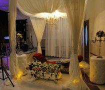 فضای باز باغ عروسی عقیق احمد آباد مستوفی