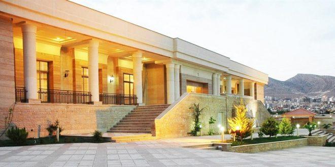 تالار پذیرایی صدرا شیراز,باغ تالار صدرا شیراز