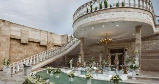 باغ تالار اندریا مشهد, تالار پذیرایی اندریا مشهد
