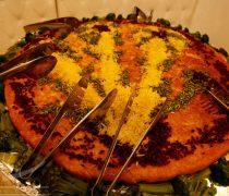 پذیرایی باغ تالار ایرانی, غذای تالار