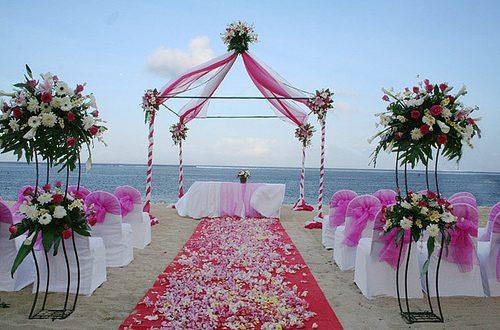 عروسی در ساحل