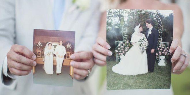 قدردانی از پدر و مادر در عروسی