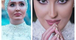 زهره فکور مدل لباس عروس مانکن