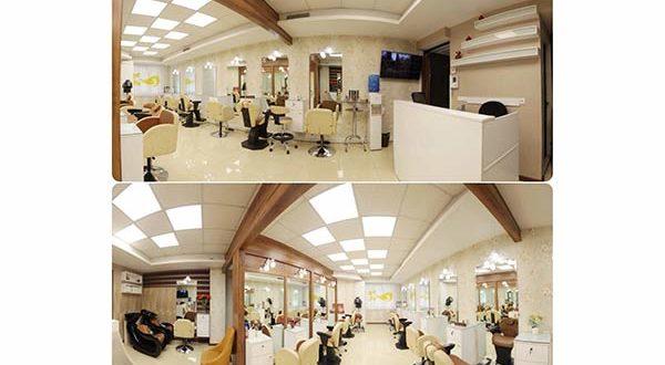 آرایشگاه عروس مهناز ونک, سالن زیبایی مهناز گاندی