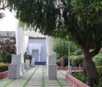 باغ تالار پارسه تخت جمشید احمد آباد