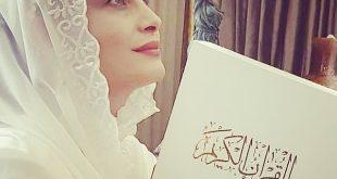 عکس مراسم عقد مریم کاویانی و مهمان پرست امور خارجه